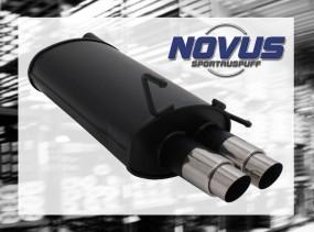 Novus Endschalldämpfer 2 x 76mm GP-Design CLK-Klasse inkl. Cabri
