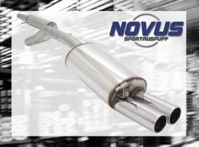 Novus Gruppe A Anlage 2 x 90mm M-Design VW Golf IV Volkswagen Go