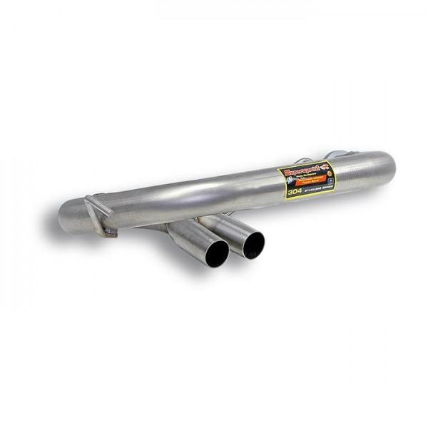 Supersprint Verbindungsrohr für Serien Mittelschalldämpfer (Spid