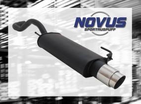 Novus Endschalldämpfer 1 x 103mm GP-Design VW Polo IV Facelift V