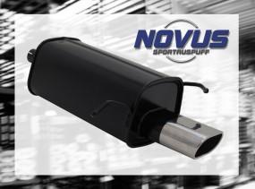 Novus Endschalldämpfer 75 x 135mm C-Klasse Mercedes C-Klasse W20