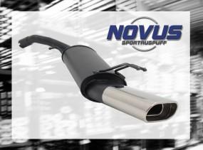 Novus Endschalldämpfer 75 x 135mm Fiat Stilo Fiat Stilo 192