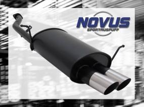 Novus Endschalldämpfer 2 x 76mm MS-Design BMW E36 Compact BMW E3