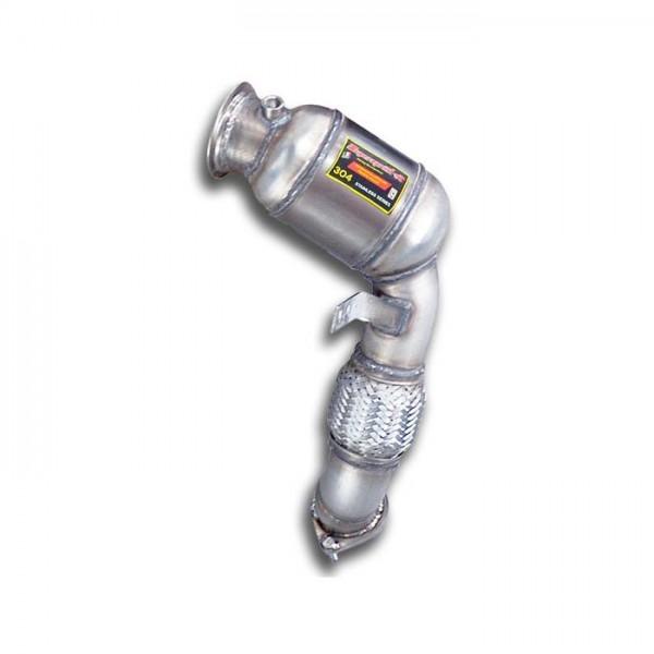 Supersprint Rohrsatz ab Turbolader + Sport Metallkatalysator Lin
