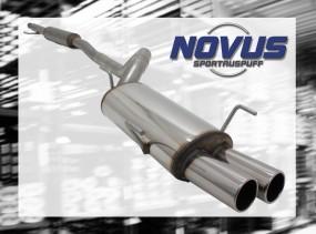 Novus Gruppe A Anlage 2 x 76mm M-Design Opel Corsa C Opel CORSA