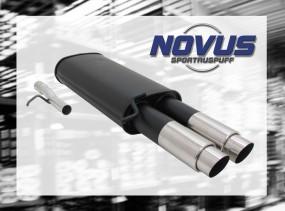 Novus Endschalldämpfer 2 x 76mm GP-Design VW Passat Volkswagen P