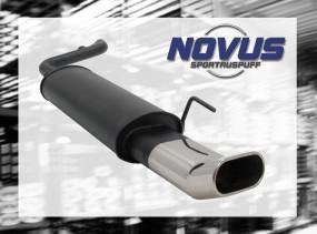 Novus Endschalldämpfer 75 x 135mm DTM Audi 80 Avant Audi 80 B4