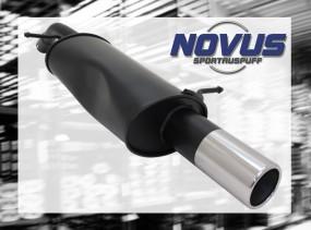 Novus Endschalldämpfer 1 x 90mm Citroen C3 Pluriel Citroen C3 Pl