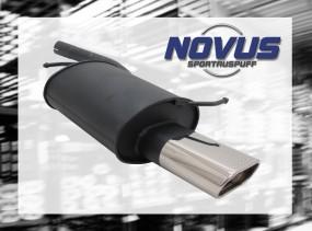 Novus Endschalldämpfer 75 x 135mm Audi A4 Avant Audi A4 B6 / 8E