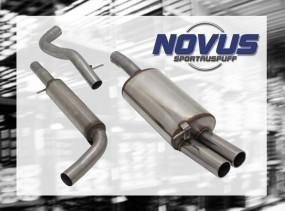 Novus Gruppe A Anlage 2 x 76mm M-Design VW Golf IV Volkswagen Go