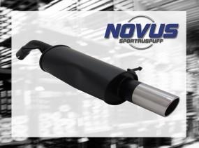 Novus Endschalldämpfer 1 x 90mm SR-Design Citroen C3 Pluriel Cit