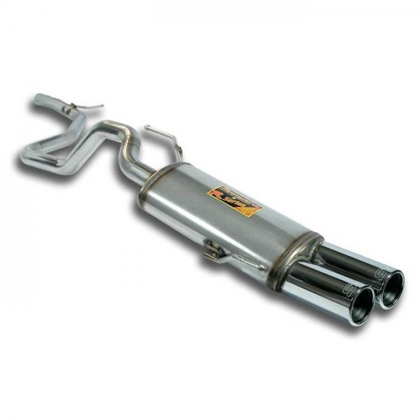 Verbindungsrohr + Endschalldämpfer OO76 Inox 409