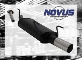 Novus Endschalldämpfer 1 x 76mm RL-Design Opel Astra G Caravan O