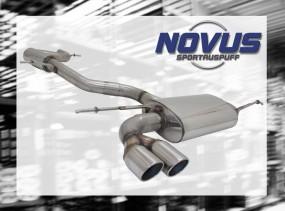 Novus Gruppe A Anlage 2 x 76mm SR-Design VW Scirocco III Volkswa