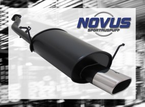 Novus Endschalldämpfer 75 x 135mm BMW E36 Compact BMW E36 Compac