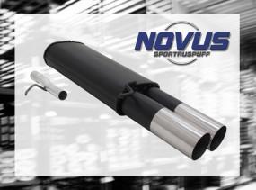 Novus Endschalldämpfer 2 x 90mm RL-Design VW Passat Volkswagen P