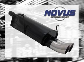 Novus Endschalldämpfer 2 x 76mm DTM BMW E46 Coupe BMW E46 Lim, C