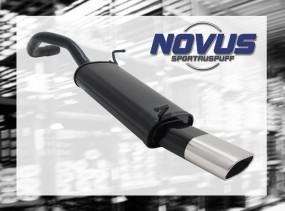 Novus Endschalldämpfer 75 x 135mm Seat Ibiza Seat Ibiza 6L