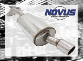 Novus Gruppe A Anlage 1 x 86mm SR-Design VW Golf IV Volkswagen G