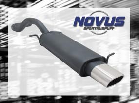 Novus Endschalldämpfer 75 x 135mm Seat Ibiza Seat Ibiza 6K