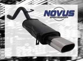 Novus Endschalldämpfer 75 x 135mm Fiat Grande Punto Fiat Grande