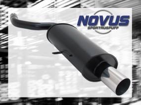 Novus Endschalldämpfer 1 x 90mm RL-Design Mini Cooper / One MINI