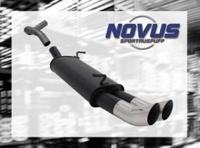 Novus Endschalldämpfer 2 x 76mm DTM Seat Ibiza Seat Ibiza 6L