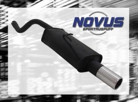 Novus Endschalldämpfer 1 x 76mm Fiat Punto II Fiat Punto II 188