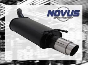 Novus Endschalldämpfer 1 x 90mm GP-Design Opel Corsa B Opel CORS