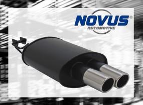 Novus Endschalldämpfer 2 x 76mm SR-Design BMW E39 Limousine BMW