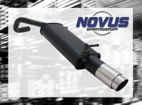 Novus Endschalldämpfer 1 x 103mm GP-Design VW Polo V Facelift Vo