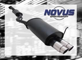 Novus Endschalldämpfer 2 x 76mm GP-Design BMW E36 Compact BMW E3