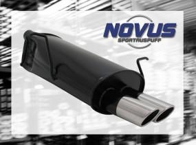 Novus Endschalldämpfer 2 x 76mm SR-Design BMW E46 Touring BMW E4