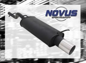 Novus Endschalldämpfer 1 x 90mm Ford KA Ford KA RBT