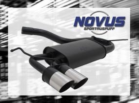 Novus Endschalldämpfer 2 x 76mm MS-Design VW Scirocco III Volksw