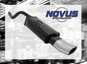 Novus Endschalldämpfer 75 x 135mm DTM Fiat Punto II Fiat Punto I