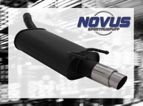 Novus Endschalldämpfer 1 x 76mm GP-Design Opel Corsa B Opel CORS