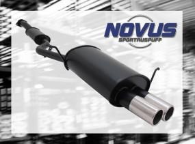 Novus Endschalldämpfer 2 x 76mm M-Design BMW E36 Compact BMW E36