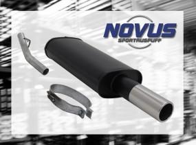 Novus Endschalldämpfer 1 x 76mm Opel Vectra A Opel Vectra A A/-C