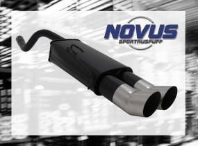 Novus Endschalldämpfer 2 x 90mm DTM Fiat Punto II Fiat Punto II