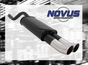 Novus Endschalldämpfer 2 x 76mm DTM Clio II Renault Clio II BB0/