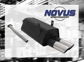Novus Endschalldämpfer 2 x 76mm MS-Design BMW E36 Touring BMW E3