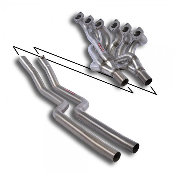 Fächerkrümmer + Verbindungsrohre Edelstahl(Left Hand Drive)