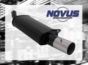Novus Endschalldämpfer 1 x 90mm RL-Design Ford Fiesta Ford Fiest