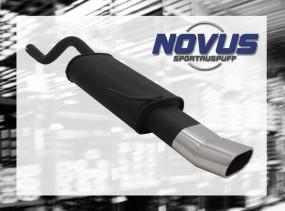 Novus Endschalldämpfer 75 x 135mm DTM Clio II Renault Clio II BB