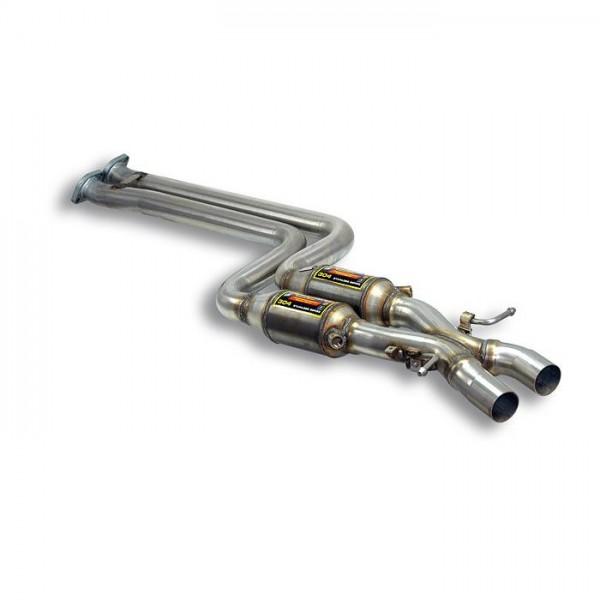 "Supersprint Metallkatalysator Recht - Link + ""X-Pipe"""