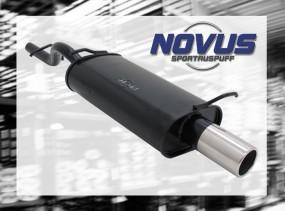 Novus Endschalldämpfer 1 x 76mm Ford KA Ford KA RBT