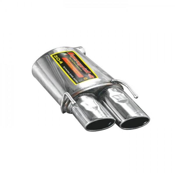 Supersprint Endschalldämpfer Links 120x80