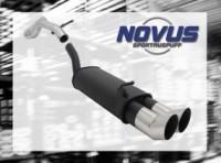 Novus Endschalldämpfer 2 x 90mm DTM VW Golf IV Volkswagen Golf I