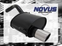 Novus Endschalldämpfer 1 x 90mm SR-Design Alfa Romeo 147 Alfa Ro